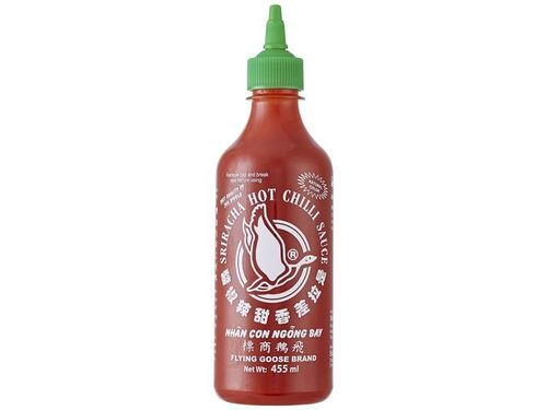 Sriracha Chilisauce - FLYING GOOSE - Thailand - 455ml