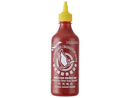 Sriracha Chilisauce  mit Ingwer - FLYING GOOSE - Thailand - 455ml