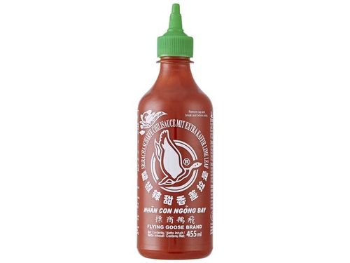 Sriracha Chilisauce mit Kafir - FLYING GOOSE - Thailand - 455ml