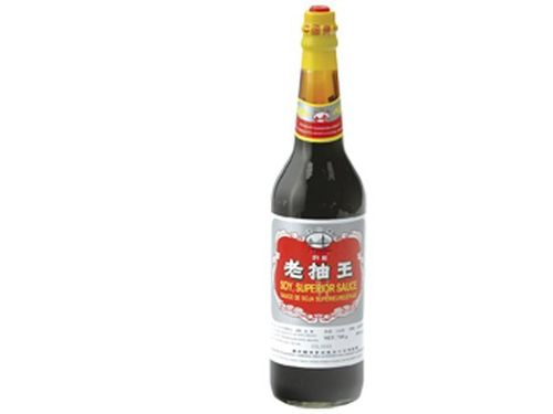 Dunkle Sojasauce Superior Soy - HAIYIN BRIDGE - China - 600ml