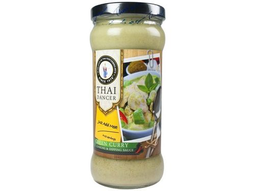 Grünes Curry Sauce - THAI DANCER - Thailand - 335ml