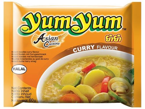 Instant Curry Nudeln - YUM YUM - Thailand - 60g