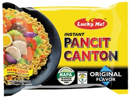 Instant Pancit Canton Nudeln - LUCKY ME - Phillippinen - 60g