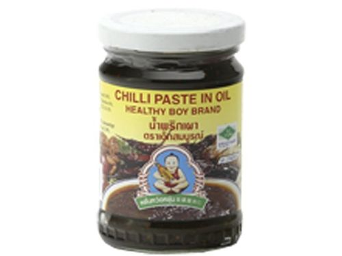 Chilipaste in Öl - HEALTHY BOY - Thailand - 220g