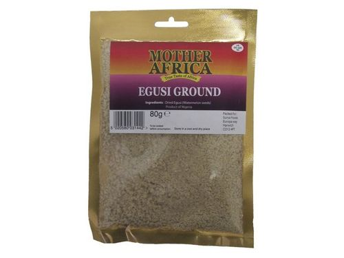 Egusi gemahlen - MOTHER AFRICA - UK - 80g